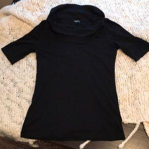Express Cowl Neck Sweater-Black